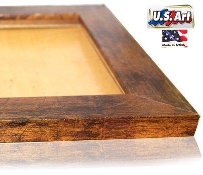 US Art 19x27 Elegant Custom made Bronze Picture Poster Frame Mdf 1.5 inch wide Moulding #B1.5 ()