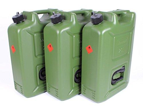 Accessoires auto Bidons pour carburants Oxid7 lot de 3 bidons pour carburant e85 diesel 20 20 l