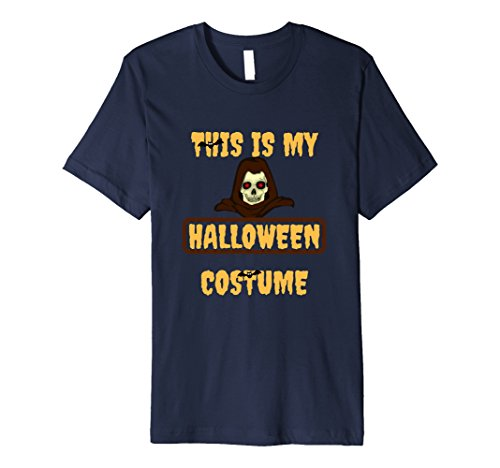 Mens THIS IS MY HALLOWEEN COSTUME PREMIUM QUALITY T-SHIRT Medium (Premium Quality Halloween Costumes)