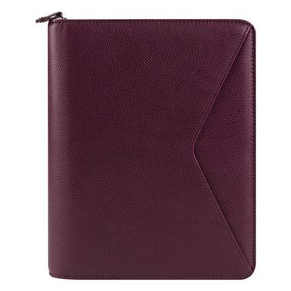 Classic Maia Leather Zipper Binder - ()