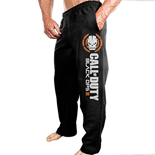 Price comparison product image PANDO Call-duty Black Ops Men's Pants L Black