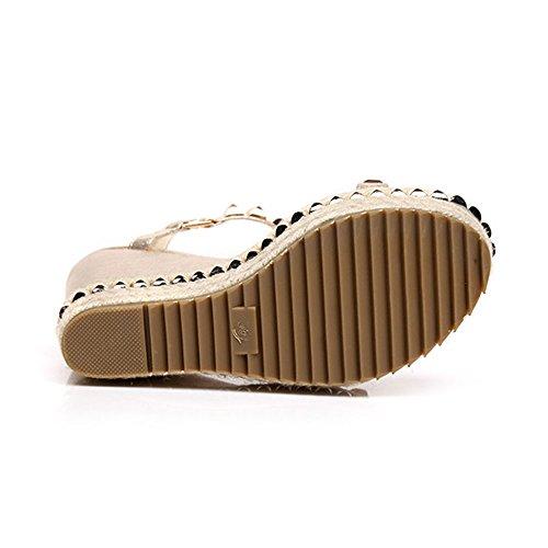 5cm EU38 UK5 11 Sandals Summer Platform Size Heels Amazing Women's 5 High CN38 Wedges qxgx8Fvw