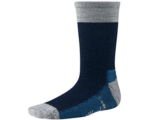 Smartwool Mens Hiker (Smartwool Boys' Hiker Street Socks (Deep Navy Heather) Medium)