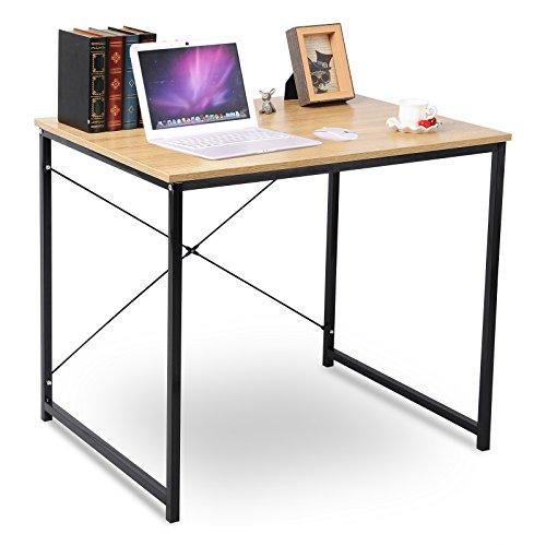 WOLTU Home Desk Modern Office Computer Desk Wooden Table Book Desk Sturdy Simple Design Laptop Workstation Desk Woodlike by WOLTU