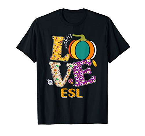 Halloween Esl Ideas (Funny Halloween Love Esl Pumpkin Teacher Costume)