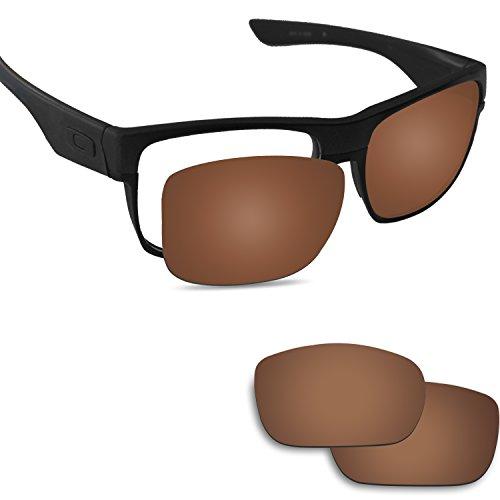 Fiskr Anti-saltwater Replacement Lenses for Oakley Twoface Sunglasses - Various - For Oakley New Sunglasses Lenses