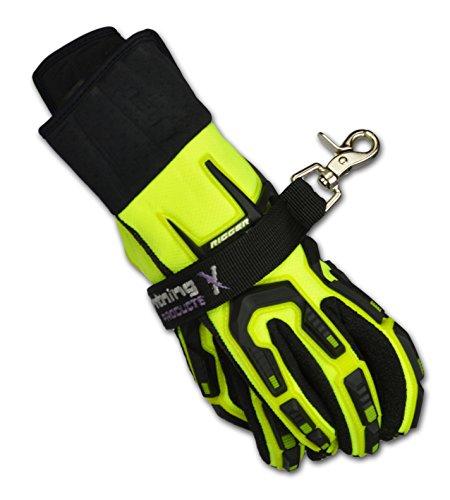 Lightning X Fireman's Deluxe Glove Strap - BLACK