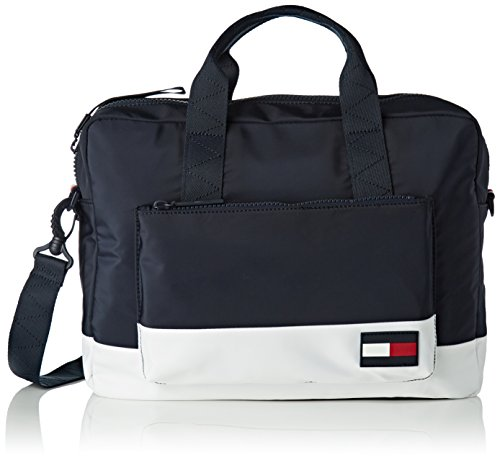 Laptop Computer Bag Escape Blue corporate Tommy Men's Hilfiger nwqf8a7xv1