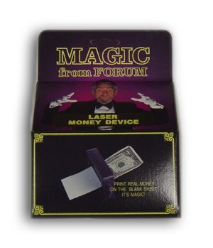 Laser Money Maker Magic Trick
