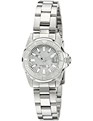 Invicta Womens 7066 Signature Analog Display Swiss Quartz Silver Watch