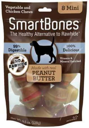 Dog Treats: SmartBones Peanut Butter