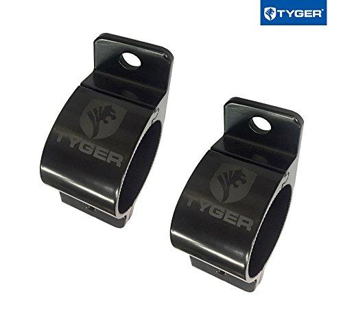 Tyger 2pc Light Mount Clamp Kit for 2.5inch Round Tube Bull Bars/Lamp Bars