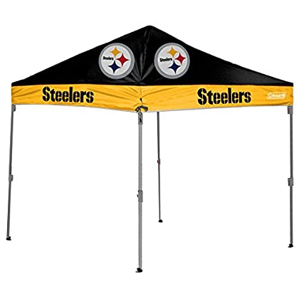 Image of Canopies NFL Straight Leg Canopy with Case, 10 x 10 (All Team Options)