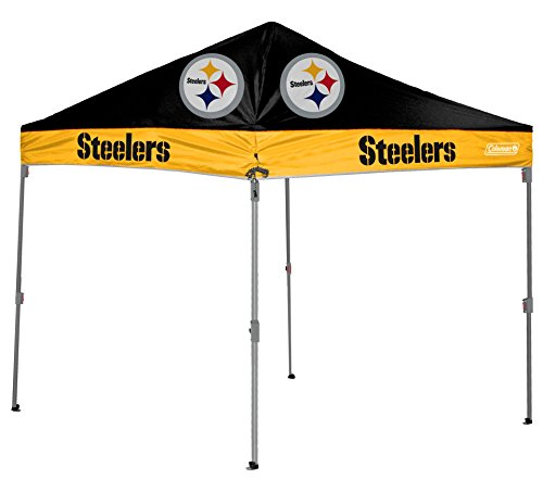 Logo Canopy - NFL Instant Pop-Up Canopy Tent with Carrying Case, 10x10