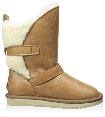 Chestnut Boot Kid's Luxe Nadir with Collective Australia Buckles q0A1A