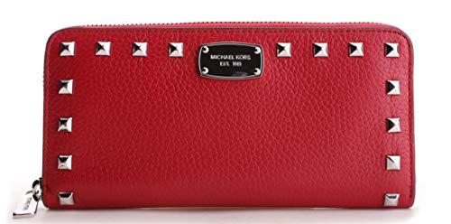 Michael Kors Women's Jet Set Continental Wallet No Size (Red)