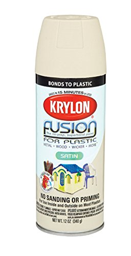 KRYLON 2437 FUSION SPRAYPAINT 12 OZ - ALMOND (pack of 6)