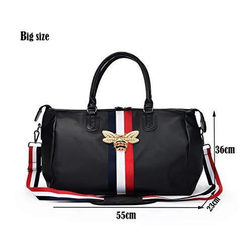Sport Fitness Travel Bag HY115 Gym Black Shoulder Small Waterproof Men Duffle Bag Bag amp; BBInxqHwZ