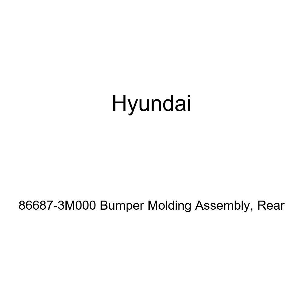 Rear Genuine Hyundai 86687-3M000 Bumper Molding Assembly