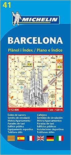 Cartina Barcellona Dettagliata.Amazon It Barcelona 1 12 000 City Plans Michelin Travel Publications Libri In Altre Lingue