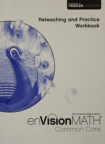 MATH 2015 COMMON CORE PRACTICE & RETEACHING WORKBOOK GRADE 5