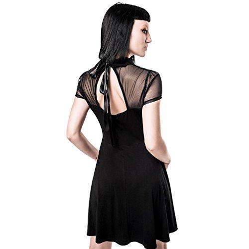 Schwarz Killstar Patineuse Femme Robe Noir wPHz0HqZxn