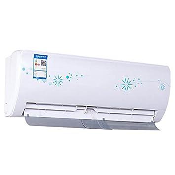 Crewell Déflecteur pour Air conditionné Anti-Diretto Qui Souffle Extensible et réglable, Blanc, 58–115cm 46-80cm 58-115cm 46-80cm