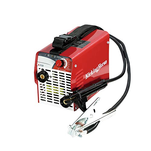 "KickingHorse A220 UL-Certified ARC Welder 220V. High Power High Rating 220A IGBT Welding Inverter.Ready to Use w/ 12 AWG Power Cord and NEMA 6-50P""Welder"" Plug. Optimized for Generator&Extension Cord"