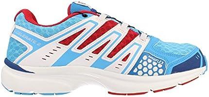 Salomon X CELERATE 2 GTX W Zapatillas Trail Running Azul Blanco Rojo para Mujer Goretex: Amazon.es: Deportes y aire libre