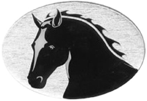 Knock Out Decals 620Ah 'Horse Head' Hitch Cover PRRXE