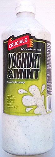 Crucials Yoghurt & Munt 4 x 1 liter