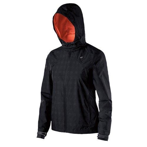 Price comparison product image ASICS Women's Performance Run Storm Shelter Jacket Performance Black Outerwear XS (US 4-6)