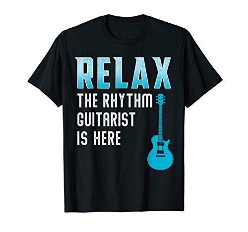 Rhythm Guitar Player Tshirt Guitarist Gift