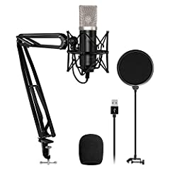 """TC-2030 is TONOR's latest condenser microphone, featuring audio high reproduction and noise reduction. With """"plug & play"""", it is ideal for podcasters, music lovers and video creators. The TC-2030 comes in a pack of all of the accessorie..."""