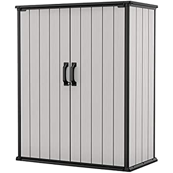 Amazon.com : Keter Premier Tall Resin Outdoor Storage Shed