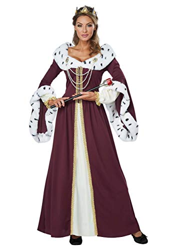 California Costumes Women's Royal Storybook Queen Adult Woman Costume, Multi, -