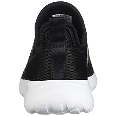 adidas W Lite Racer Slipon Black/Black/Gry Running Shoes (F36675): Shoes