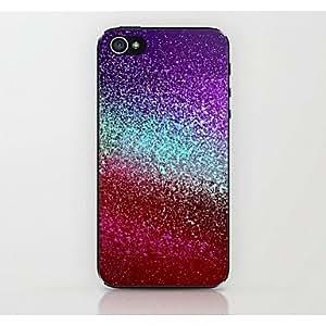 ZXM- caso duro del patrón de gradiente de color para el iphone 4 / 4s