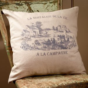 Homestead French Market Oversized Cotton Throw Pillow