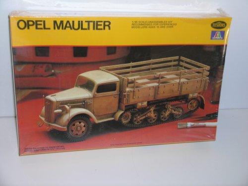 german-ww-ii-opel-maultier-plastic-model-kit