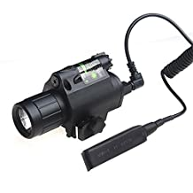Generic Adjustable Green Laser Sight Aluminum Alloy Laser Flashlight With Rifle Airsoft Laser Scope Hunting Optics
