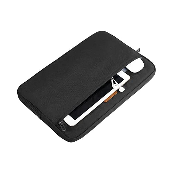 Inateck LC1400B, Borsa custodia sleeve morbida per laptop 14-14.1 pollici, compatibile con MacBook Pro 15 pollici nuovo… 4 spesavip