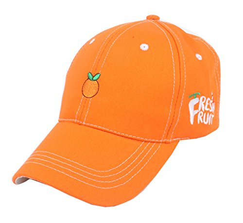 Eohak Dad Hat Orange Women | Mens Baseball Caps, Fruit Orange Hats - Adjustable Strap Back (Orange) -