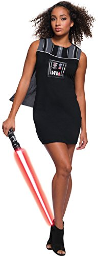 Rubie's Adult Star Wars Darth Vader Rhinestone Costume Dress Set, Small -