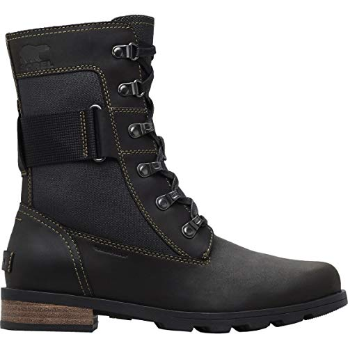 Marron Bottes Femme Major Black Emilie Conquest Sorel SB4Xdwqw