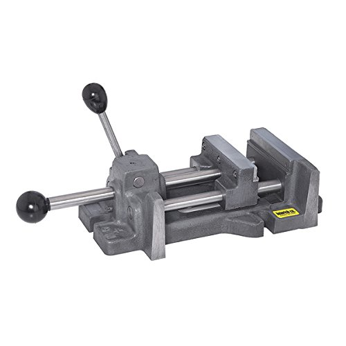 Heinrich 8-SV Grip-Master Drill Press Vise - Jaw Width - 8'' Jaw Opening - 8-3/16'' Jaw Depth - 2'' by Heinrich