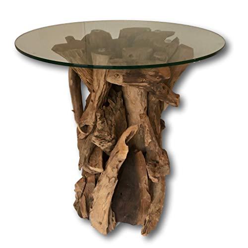 Pleasing Rustic Wood Side Table Teak Root Coffee Table With Glass Download Free Architecture Designs Scobabritishbridgeorg