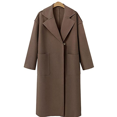Clearance Jackets Cardigan Faux Cashmere Warm Long Trench Coat AfterSo Womens (Cashmere Track Jacket)