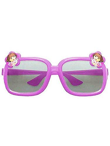 Amscan Colorful Dora's Flower Adventure Glasses (6 Piece), Purple