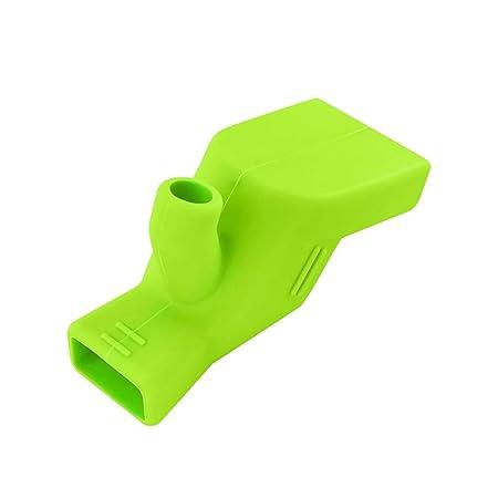 Fitfulvan - Extensor de grifo de baño de silicona para niños y ...
